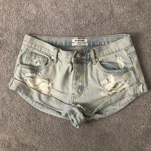 "One Teaspoon Shorts - One Teaspoon Bandit shorts in ""Wilde"""